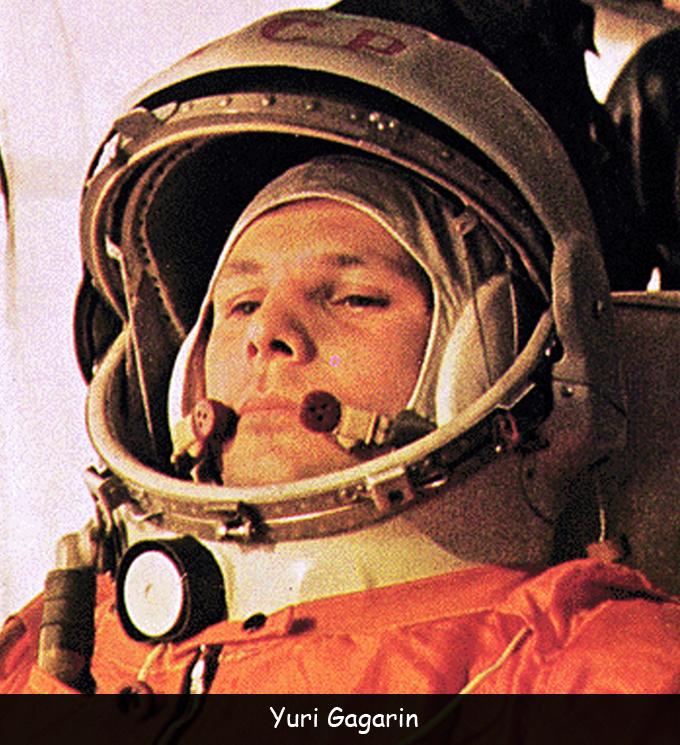 Russian Yuri Gagarin
