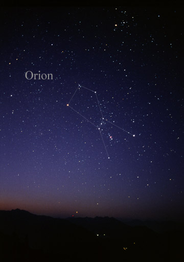 orion constellation fun facts for kids